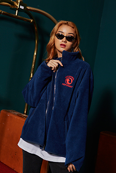 [30000SHOP]STC FLEECED JACKET