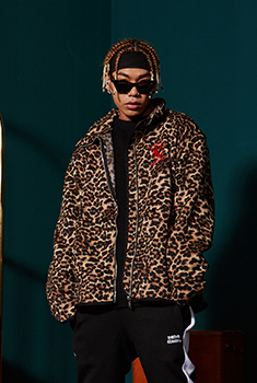 [블랙프라이데이 SALE 45%]LEOPARD FLEECED JACKET