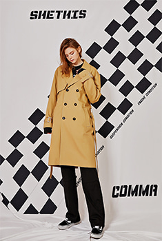 [SALE 30%]OVER TRENCH COAT