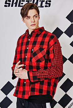 [30000SHOP]FIA CHECK SHIRTS