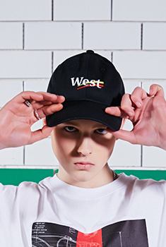 [10000Shop]WEST CAP