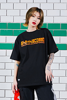 [SUMMER BOMB SALE]SHETHISCOMMA BASIC T