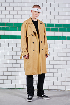 [SALE 40%]OVER TRENCH COAT