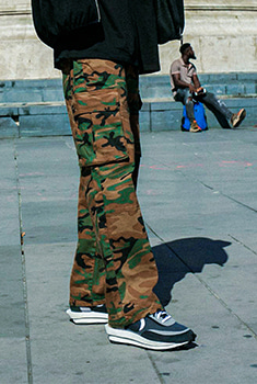 [20000Shop]CAMO POCKET PANTS