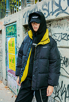 [40000Shop]STC REVERSIBLE PARKA