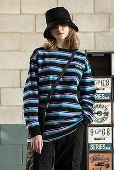 [30000Shop]20'S STRIPE T