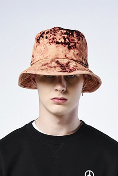 [20000Shop]WASHED BUCKET HAT(BK)