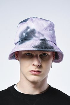[SALE 70%]WASHED BUCKET HAT(PU)