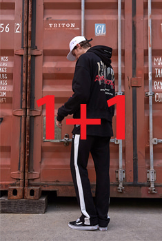 [BTS 지민, 진 착용][1+1 EVENT SALE 55%]NEW SUBCULTURE HOOD T(기모) + NEW COMMA PANTS