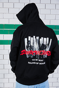 [BTS 지민, 진 착용][SALE  37%]SUBCULTURE HOOD T