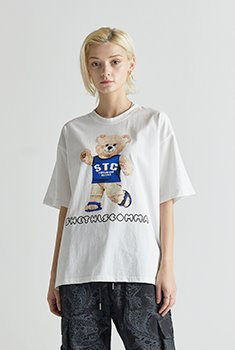 [SALE 30%]STC BEAR HALF T